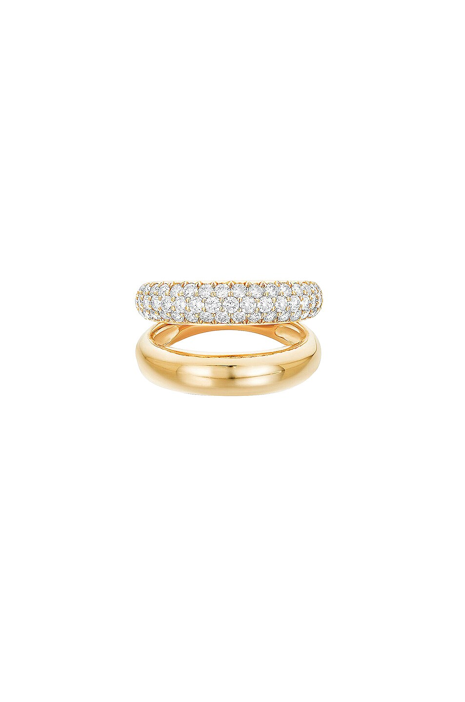 Image 1 of Carbon & Hyde Gemini Ring in 14K Yellow Gold
