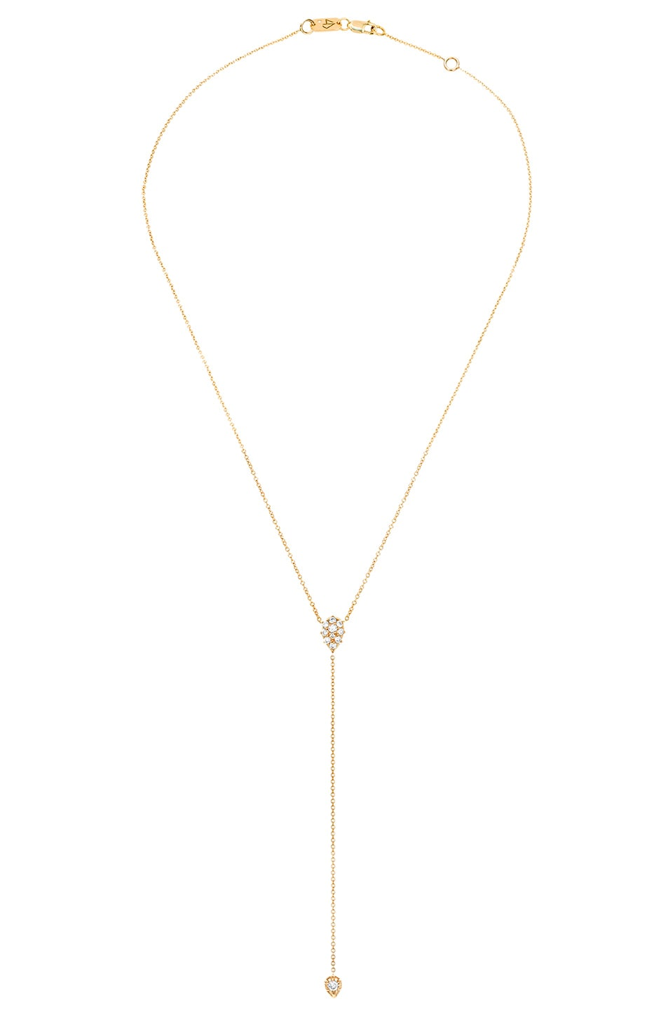 Image 1 of Carbon & Hyde Stella Lariat Necklace in Gold