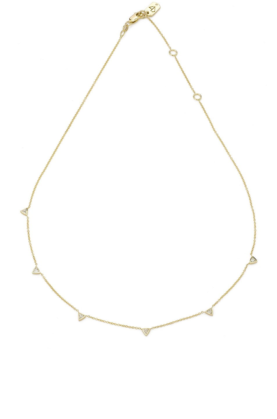 Image 1 of Carbon & Hyde Trojan Chain Choker in Gold