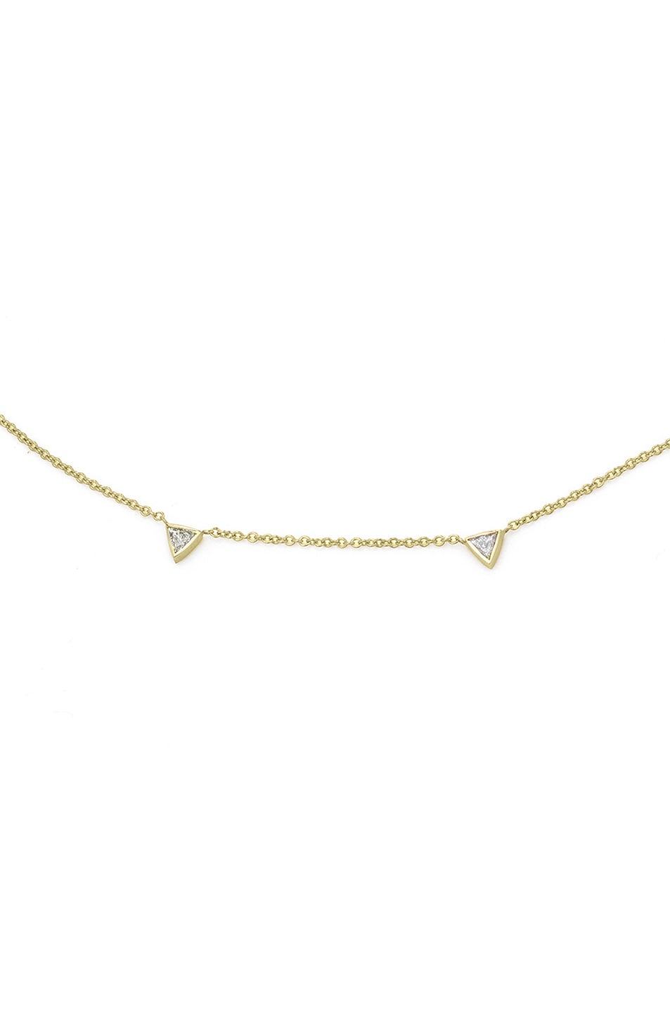 Image 2 of Carbon & Hyde Trojan Choker Necklace in Gold