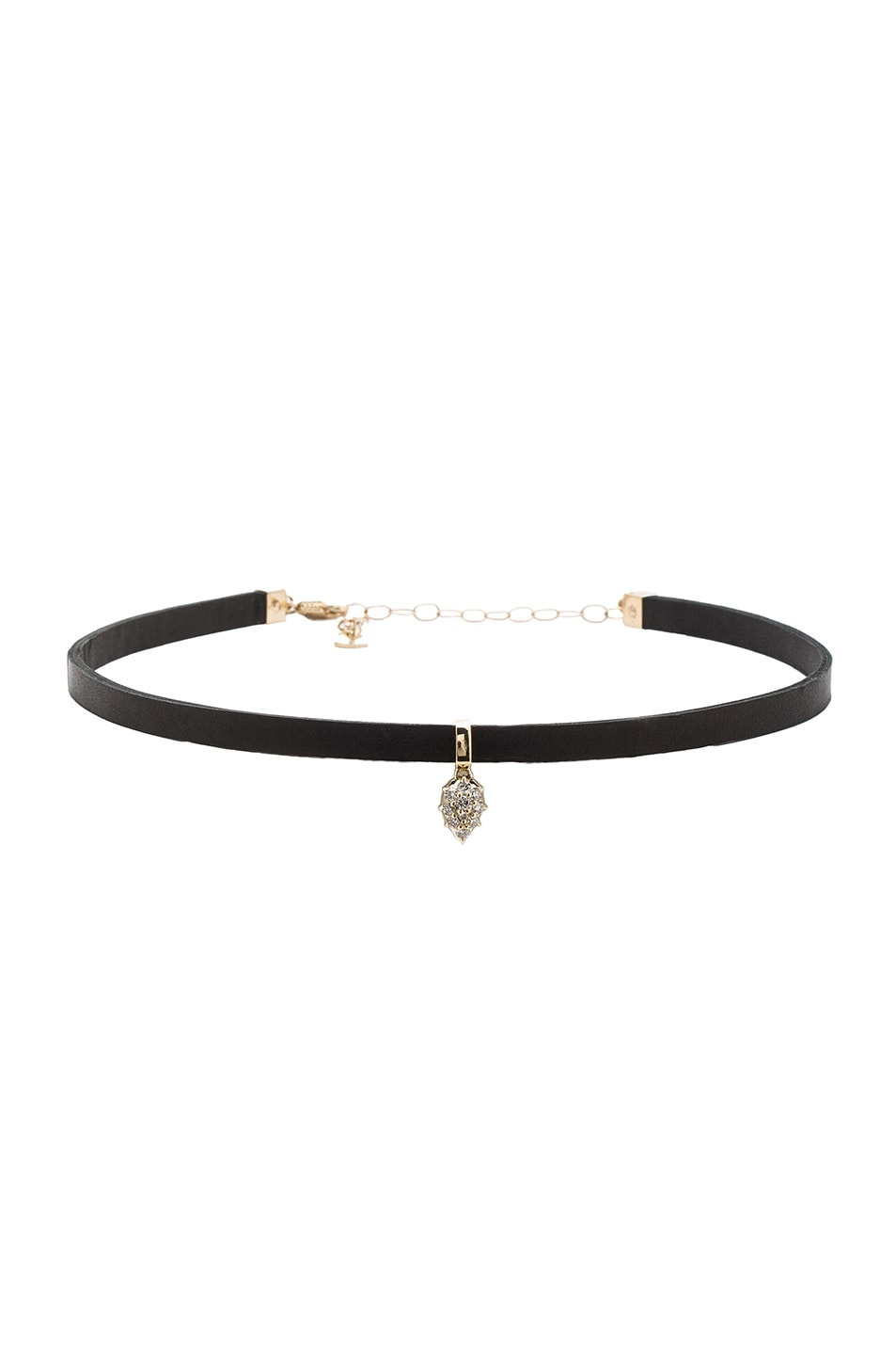 Image 1 of Carbon & Hyde Pasha Hyde Choker in Black & Gold