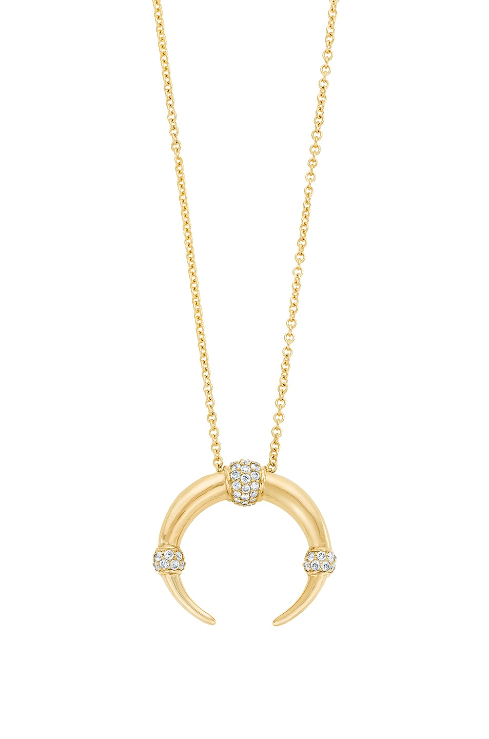 Image 1 of Carbon & Hyde Dharma Necklace in Gold