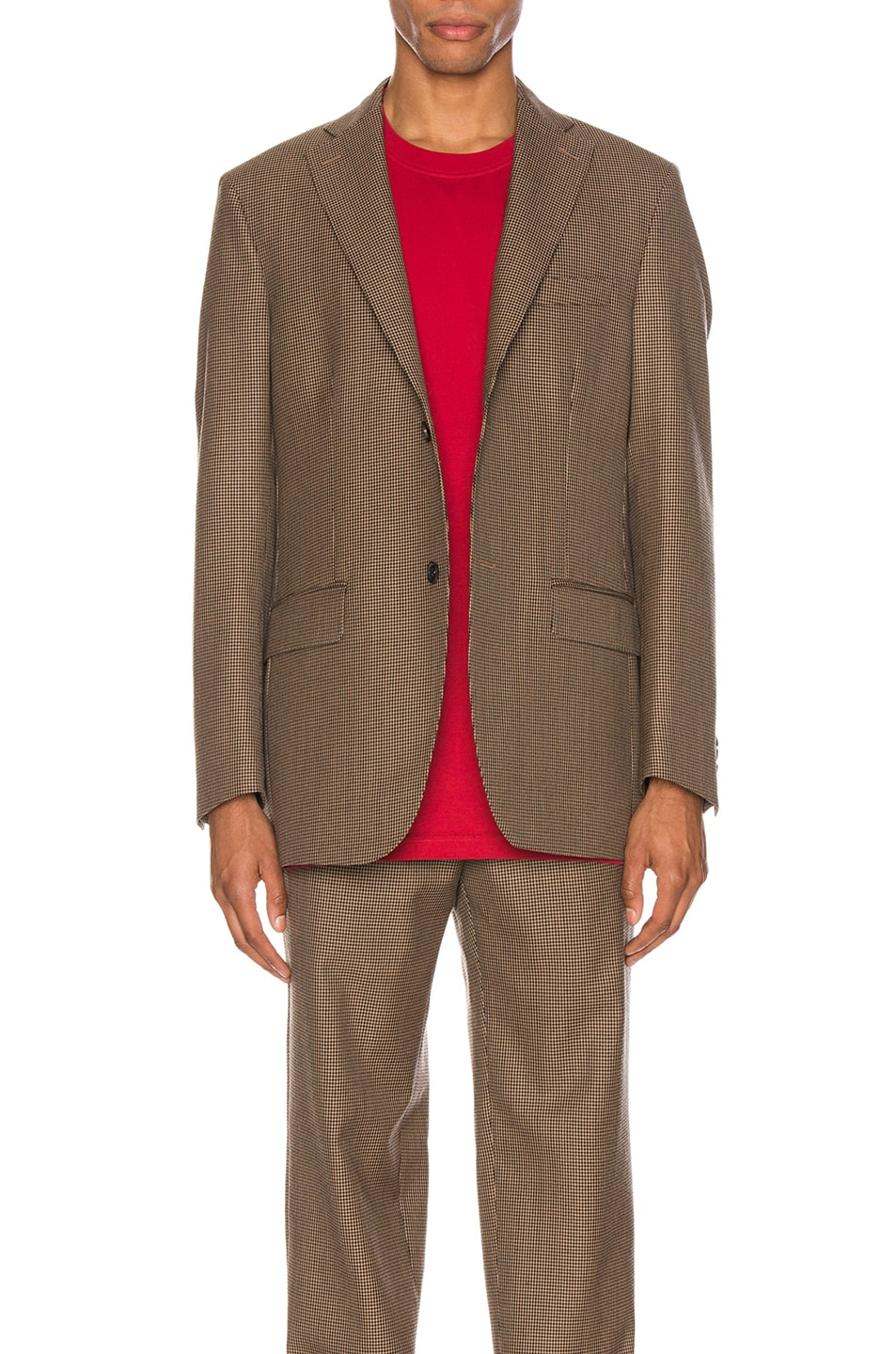 Image 1 of Cobra SC Notch Lapel Jacket in Houndstooth