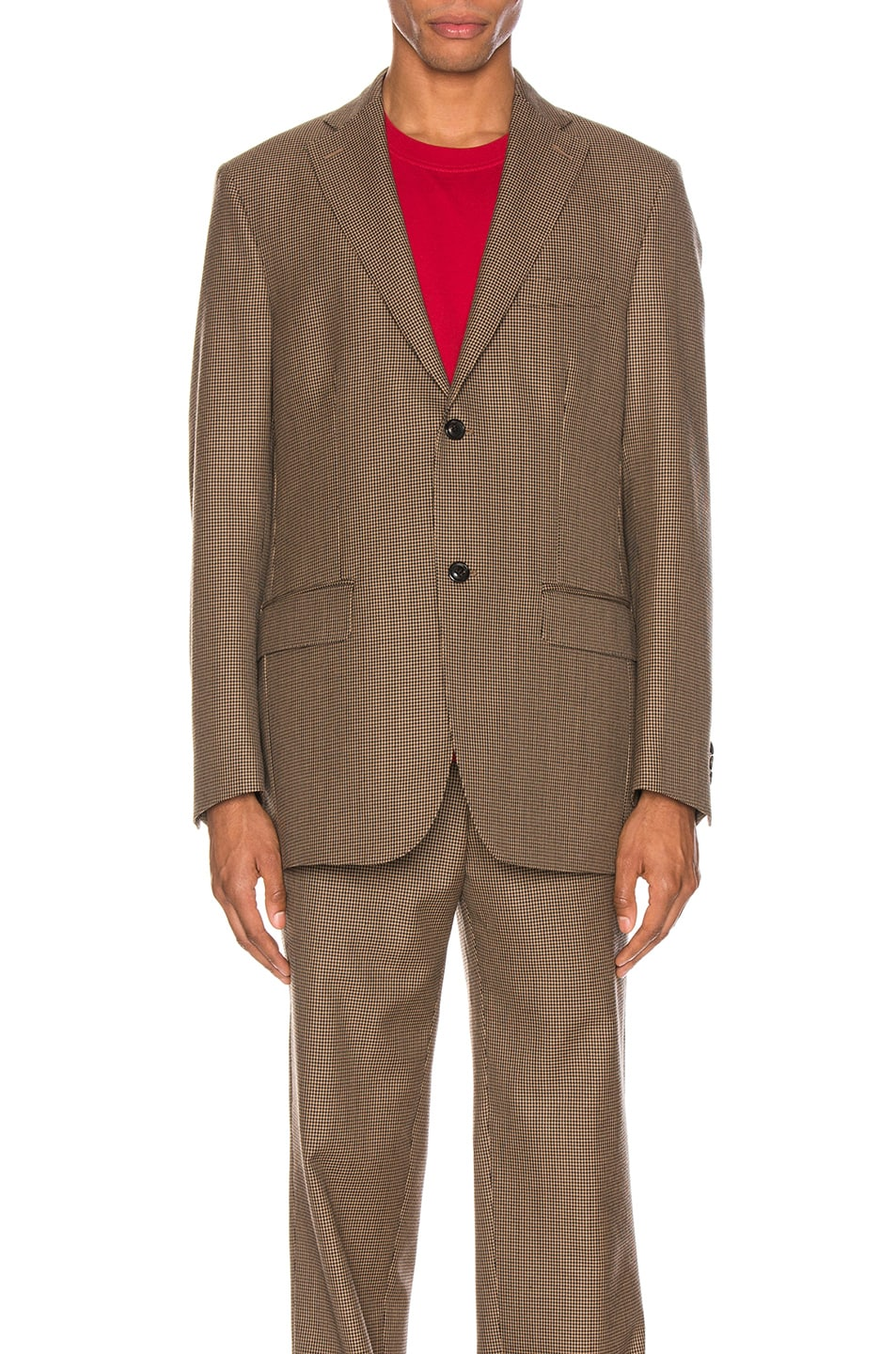 Image 2 of Cobra SC Notch Lapel Jacket in Houndstooth
