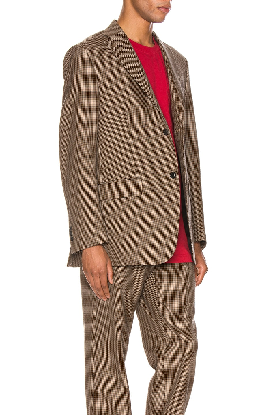 Image 3 of Cobra SC Notch Lapel Jacket in Houndstooth