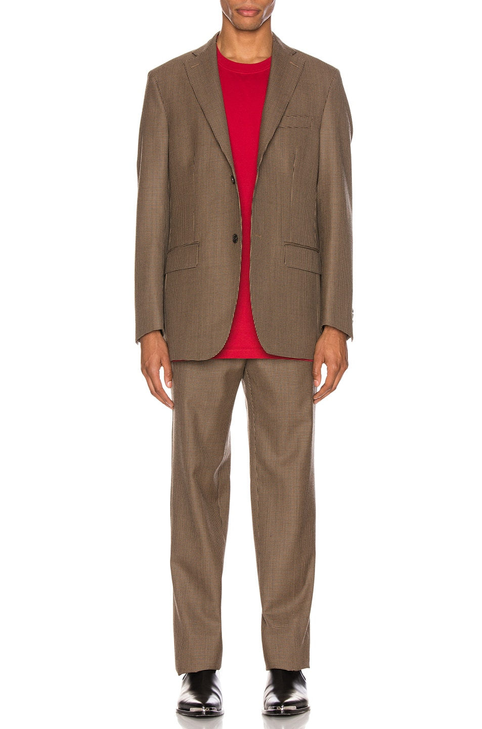 Image 5 of Cobra SC Notch Lapel Jacket in Houndstooth