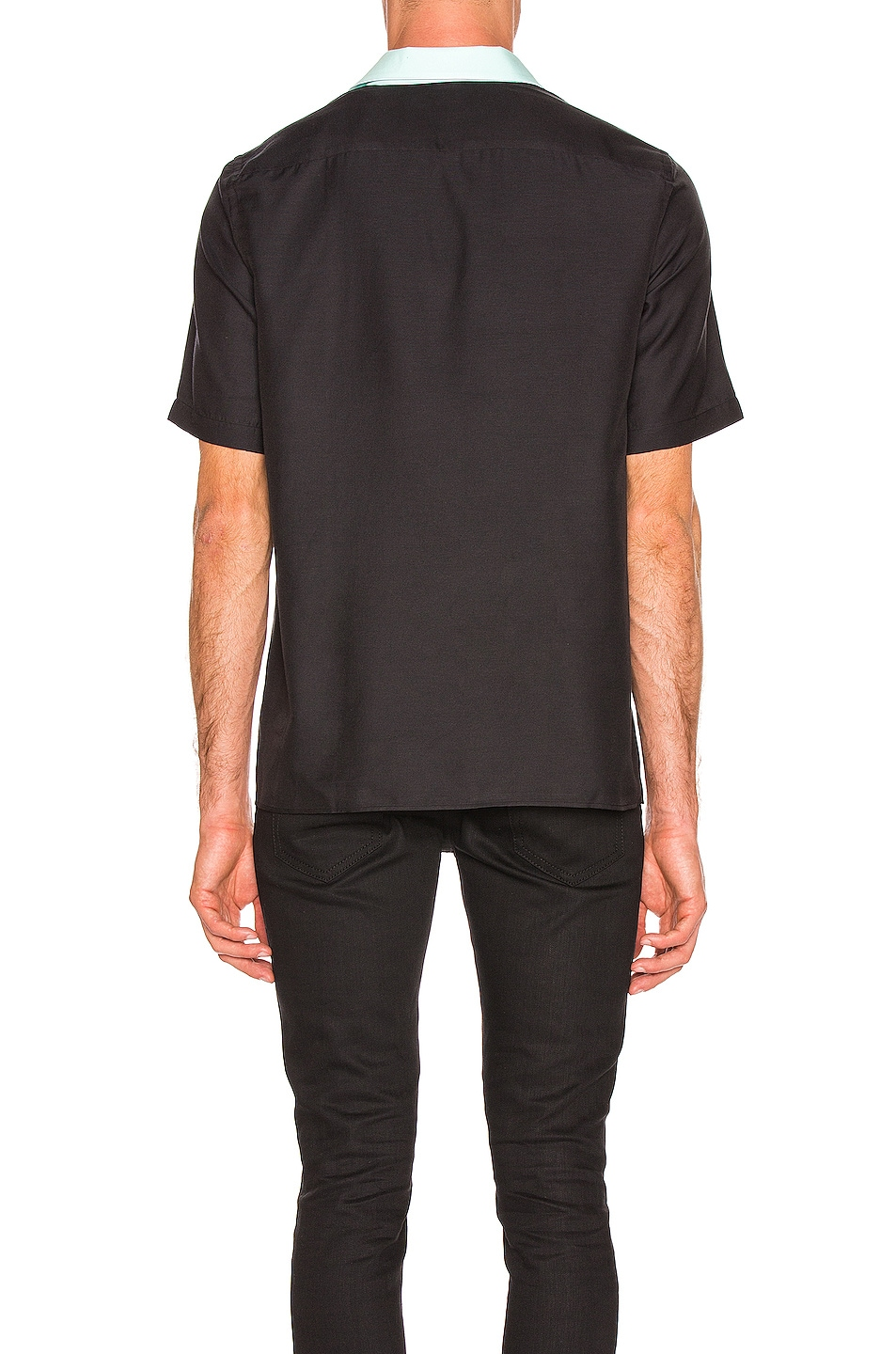 Image 3 of Cobra SC Cabrio Shirt in Black & Sea Foam