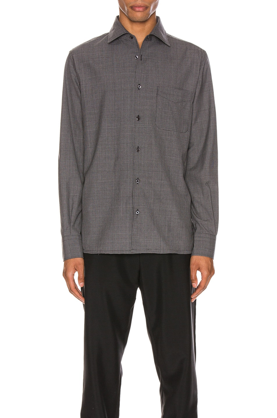 Image 1 of Cobra SC Angelo Shirt in Charcoal Plaid