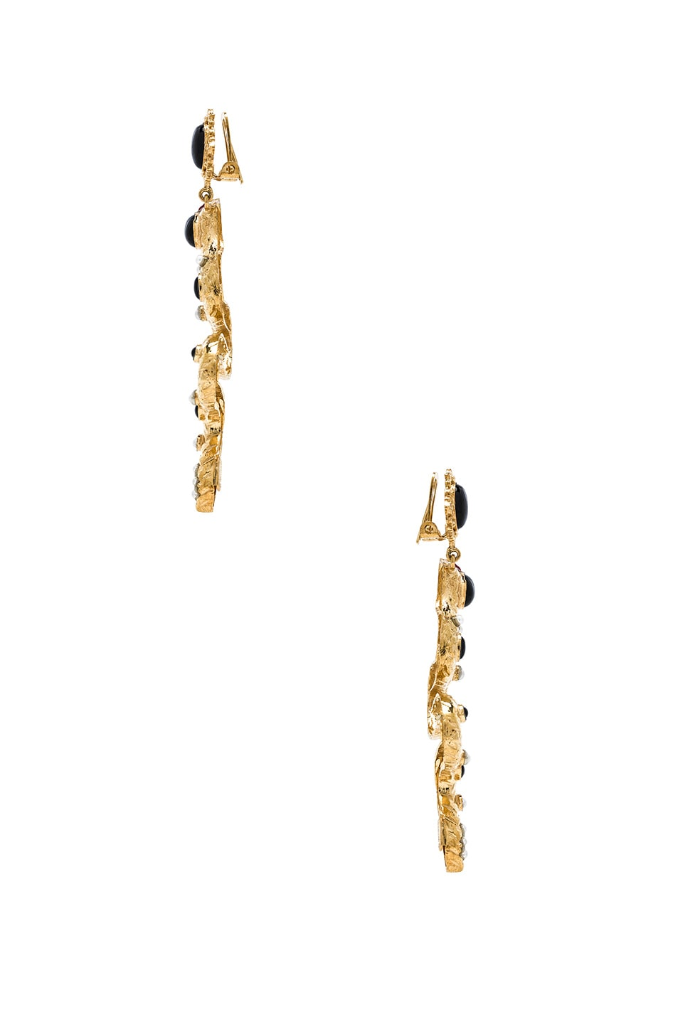 Image 2 of Christie Nicolaides Serpente Earrings in Gold