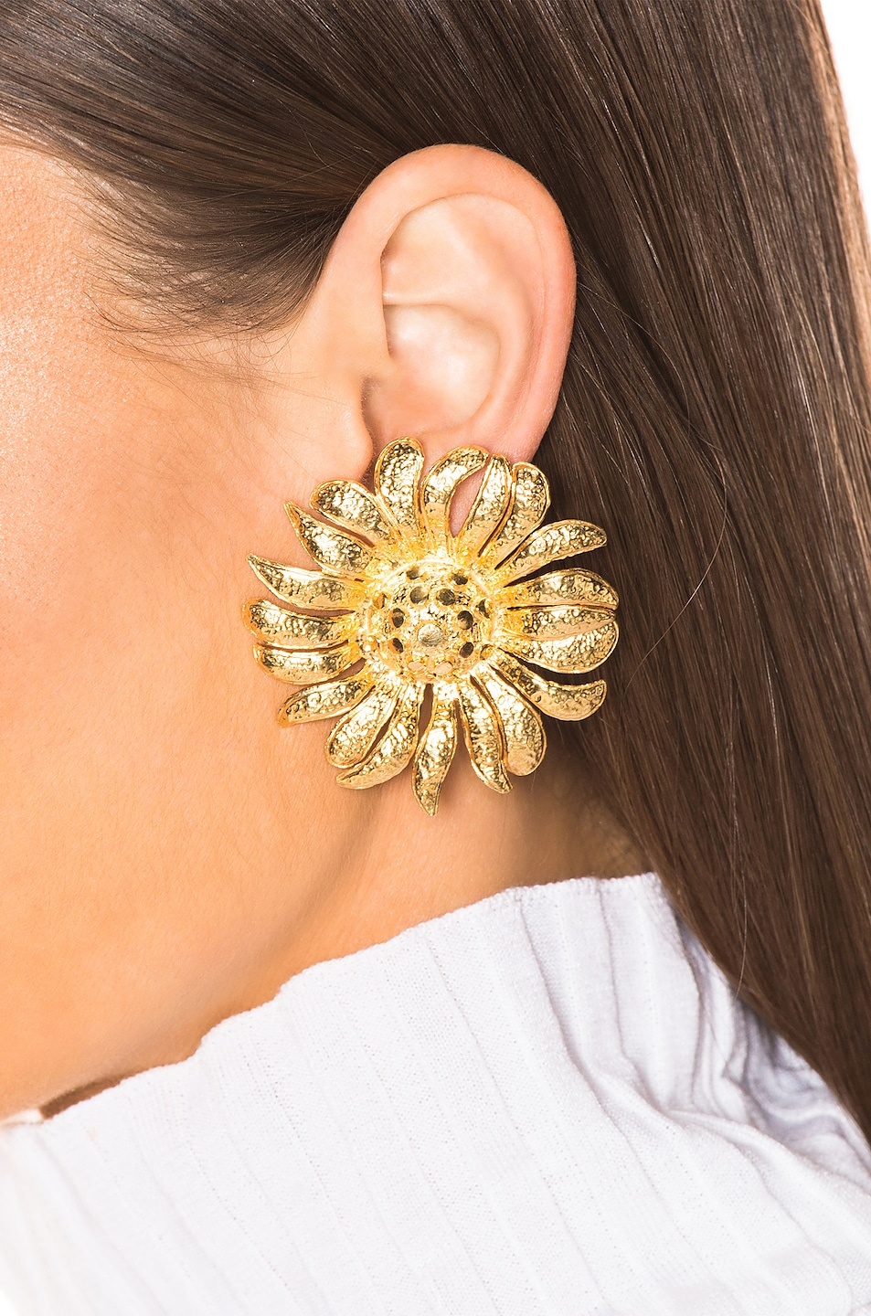 Image 2 of Christie Nicolaides Margarite Earrings in Gold