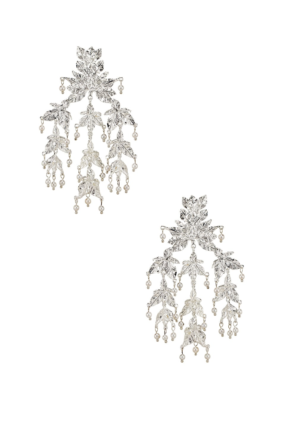 Image 1 of Christie Nicolaides Magdalena Earrings in Silver
