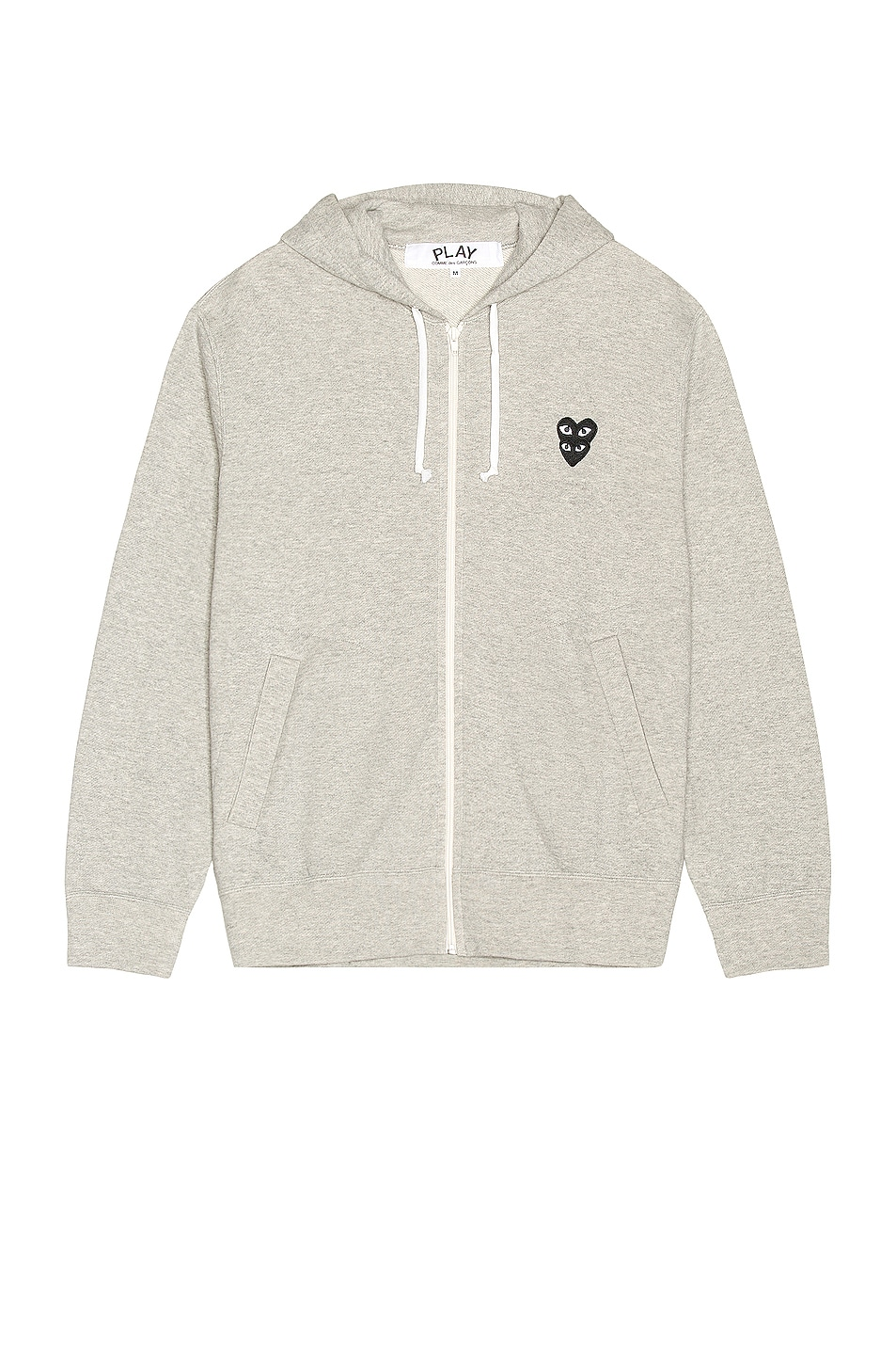 Image 1 of Comme Des Garcons PLAY Sweater in Grey
