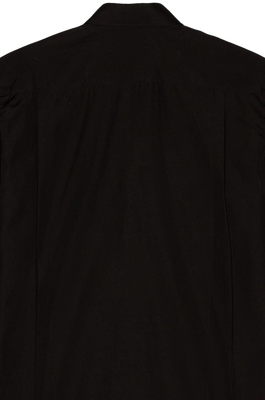 Image 4 of Comme Des Garcons PLAY Black Emblem Cotton Button Down in Black