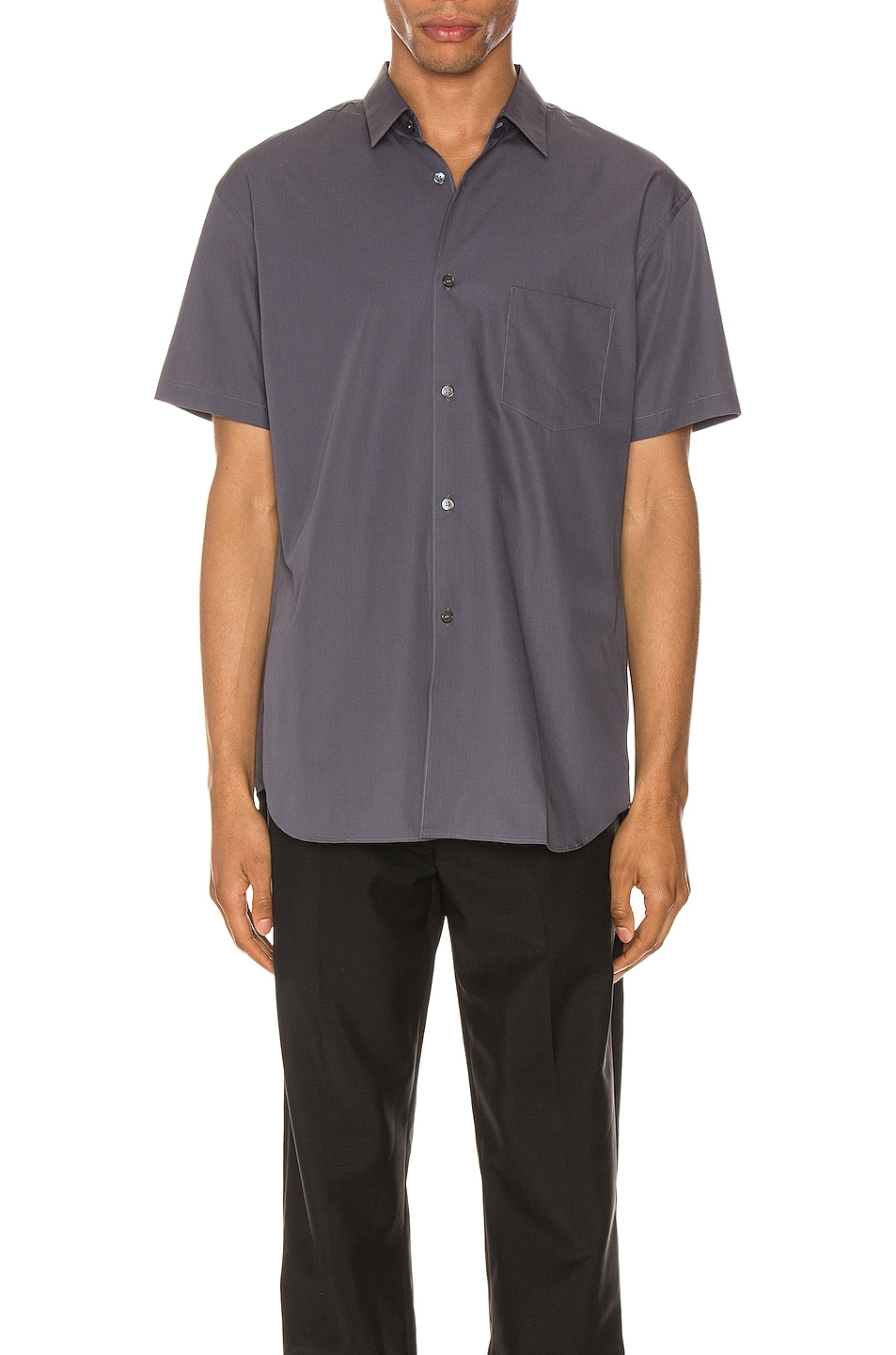 Image 1 of Comme Des Garcons SHIRT Forever Short Sleeve Shirt in Grey