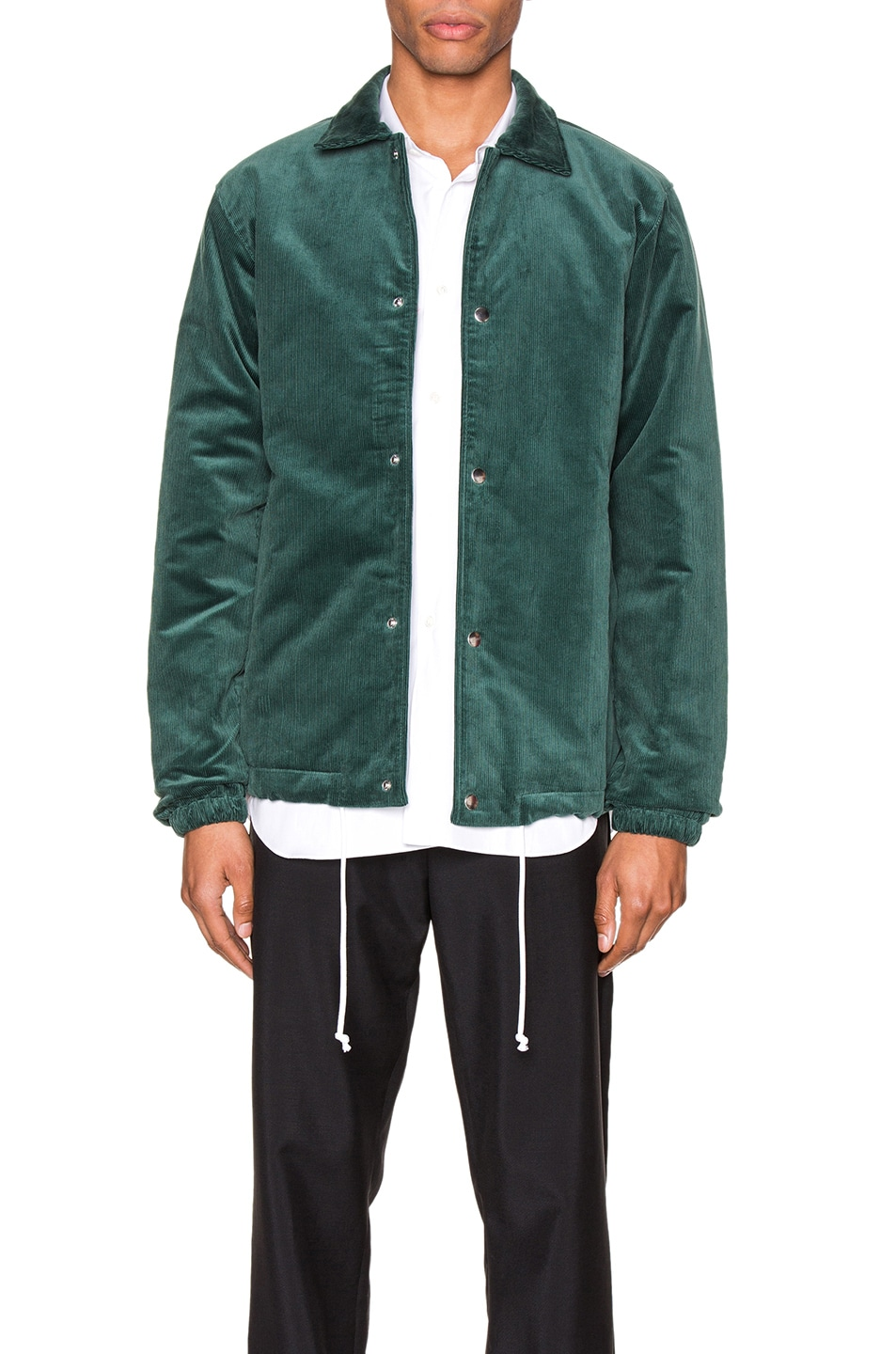 Image 1 of Comme Des Garcons SHIRT Varsity Jacket in Green