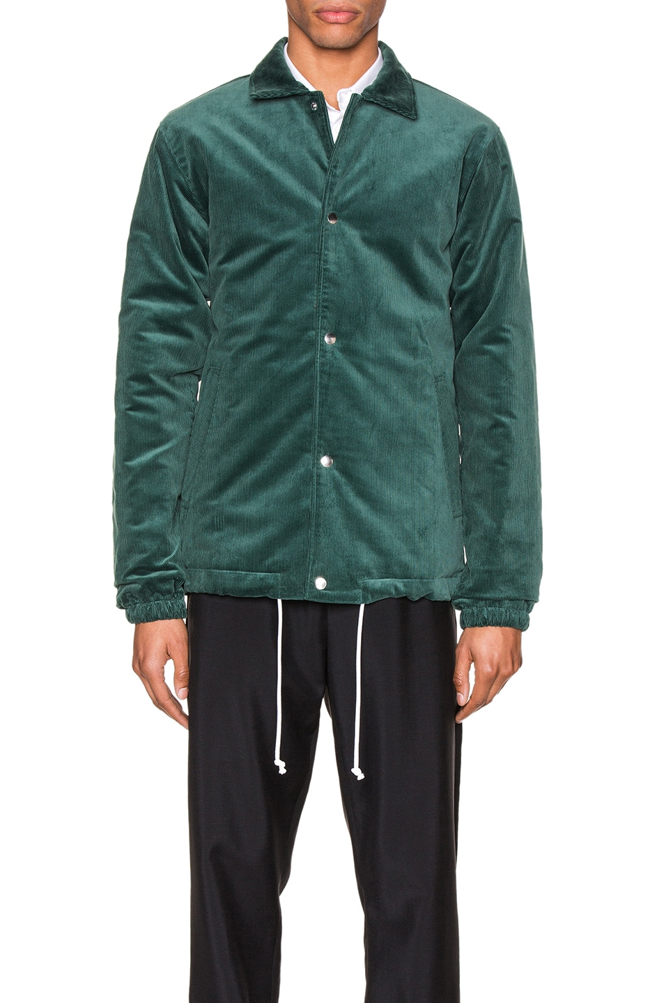 Image 2 of Comme Des Garcons SHIRT Varsity Jacket in Green