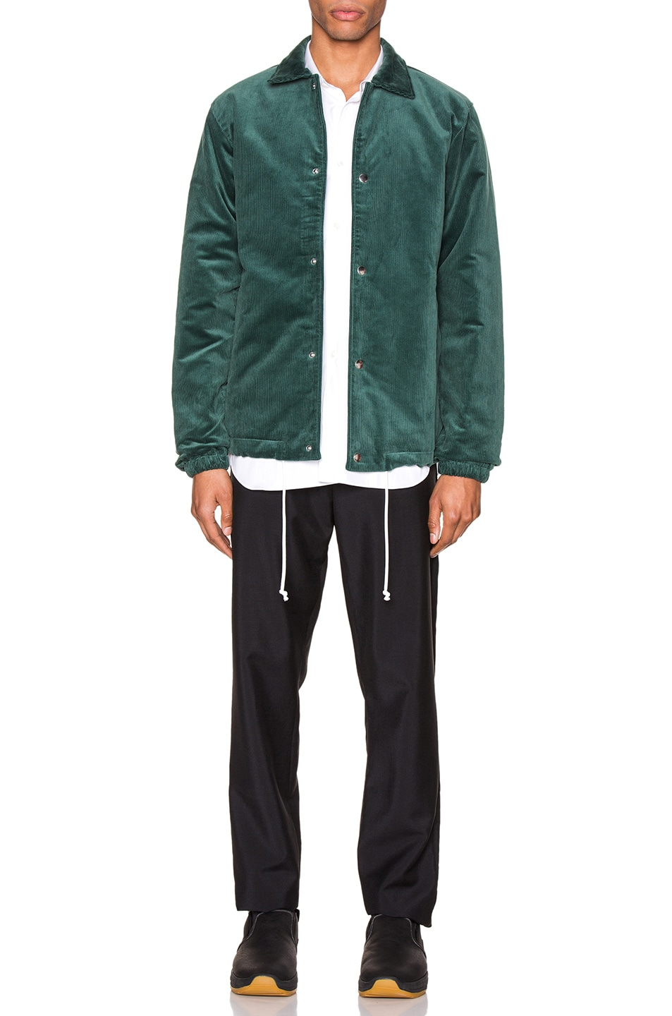 Image 5 of Comme Des Garcons SHIRT Varsity Jacket in Green