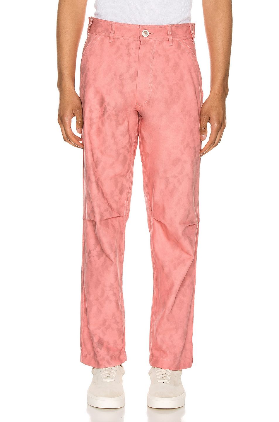 Image 1 of Comme Des Garcons SHIRT Print Pants in Pink