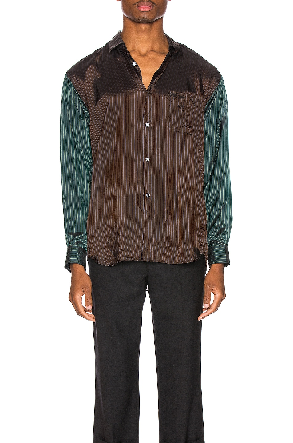 Image 1 of Comme Des Garcons SHIRT Long Sleeve Shirt in Stripes