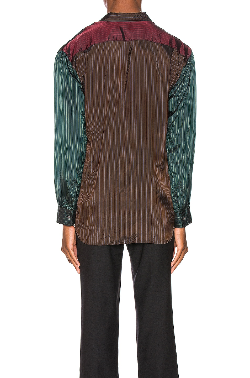Image 3 of Comme Des Garcons SHIRT Long Sleeve Shirt in Stripes
