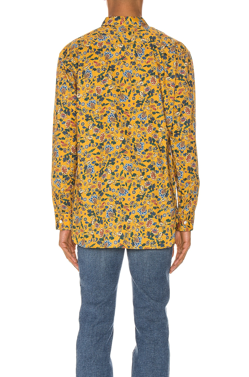 Image 3 of Comme Des Garcons SHIRT Long Sleeve Shirt in Yellow