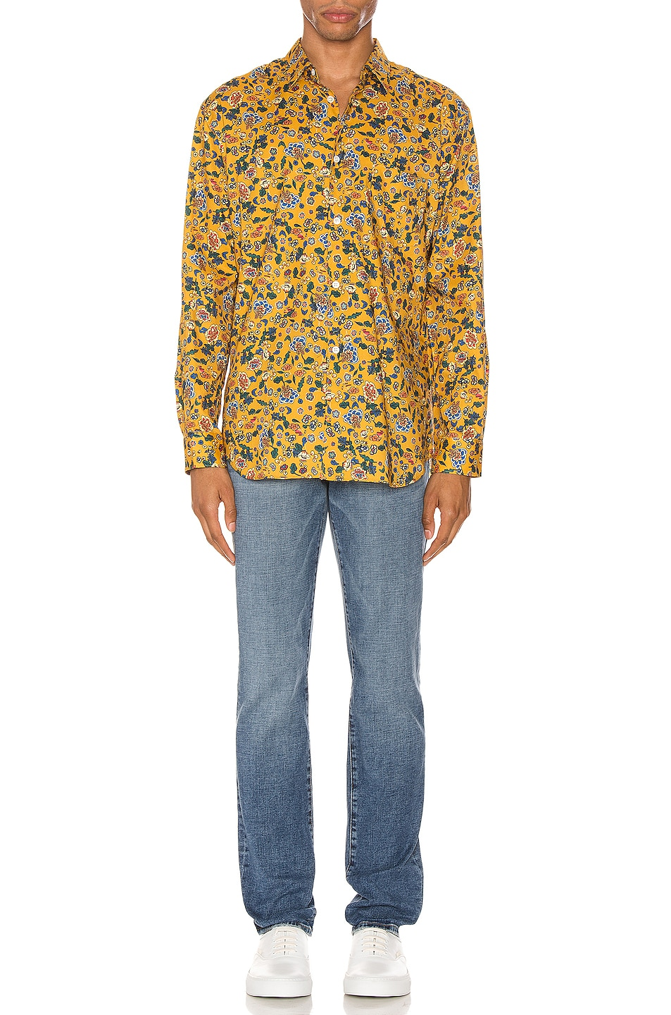 Image 4 of Comme Des Garcons SHIRT Long Sleeve Shirt in Yellow