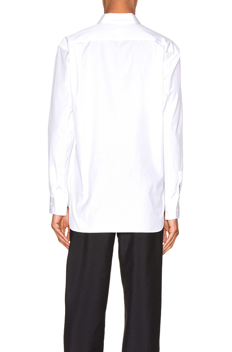 Image 4 of Comme Des Garcons SHIRT Long Sleeve Shirt in White