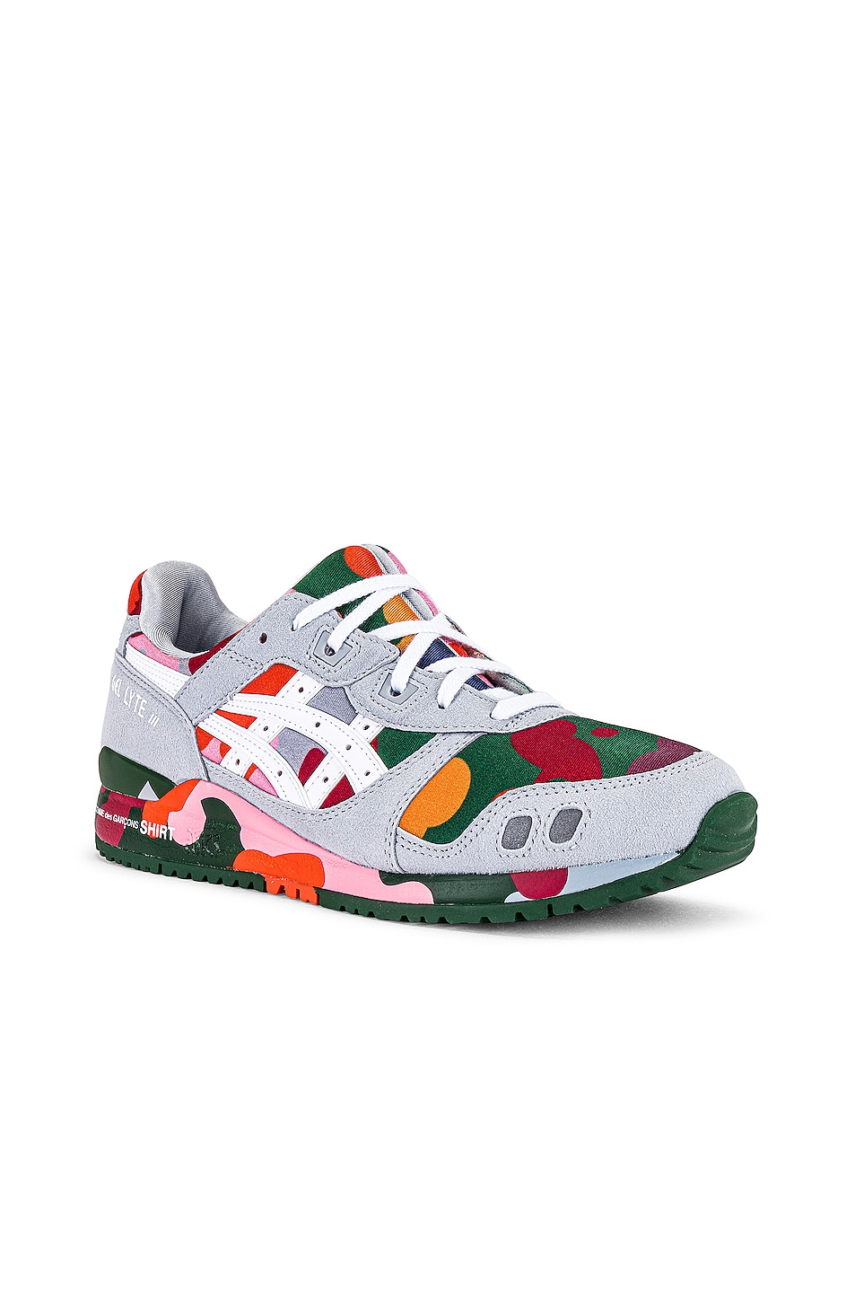 Image 1 of Comme Des Garcons SHIRT Asics Gel Lyte III Sneaker in Multi