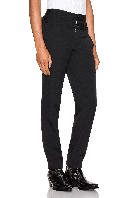 Image 2 of Comme Des Garcons Homme Plus Pants in Black