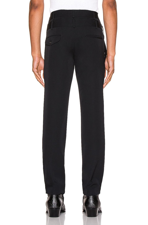 Image 3 of Comme Des Garcons Homme Plus Pants in Black