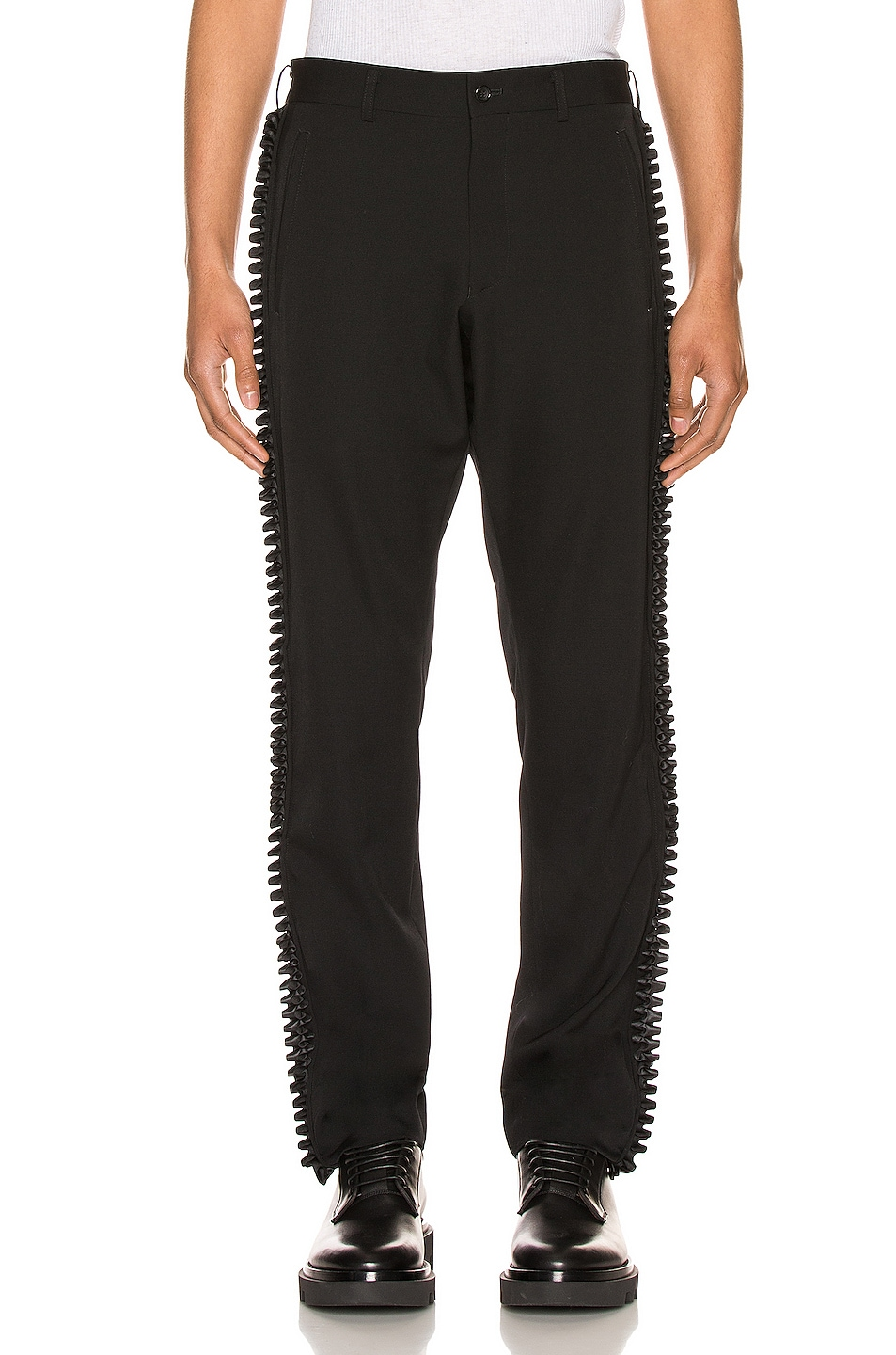 Image 2 of Comme Des Garcons Homme Plus Trousers in Black