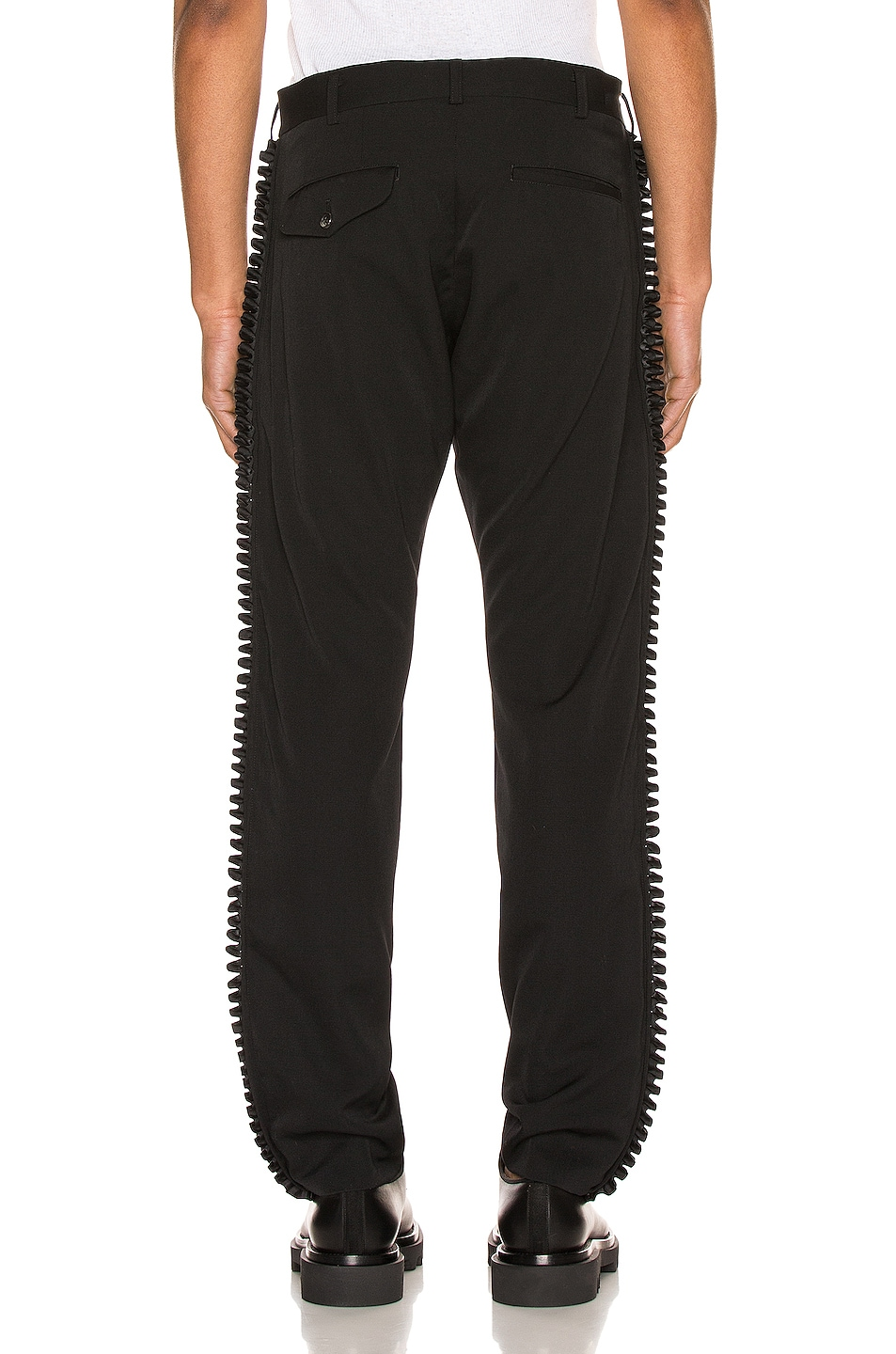 Image 4 of Comme Des Garcons Homme Plus Trousers in Black