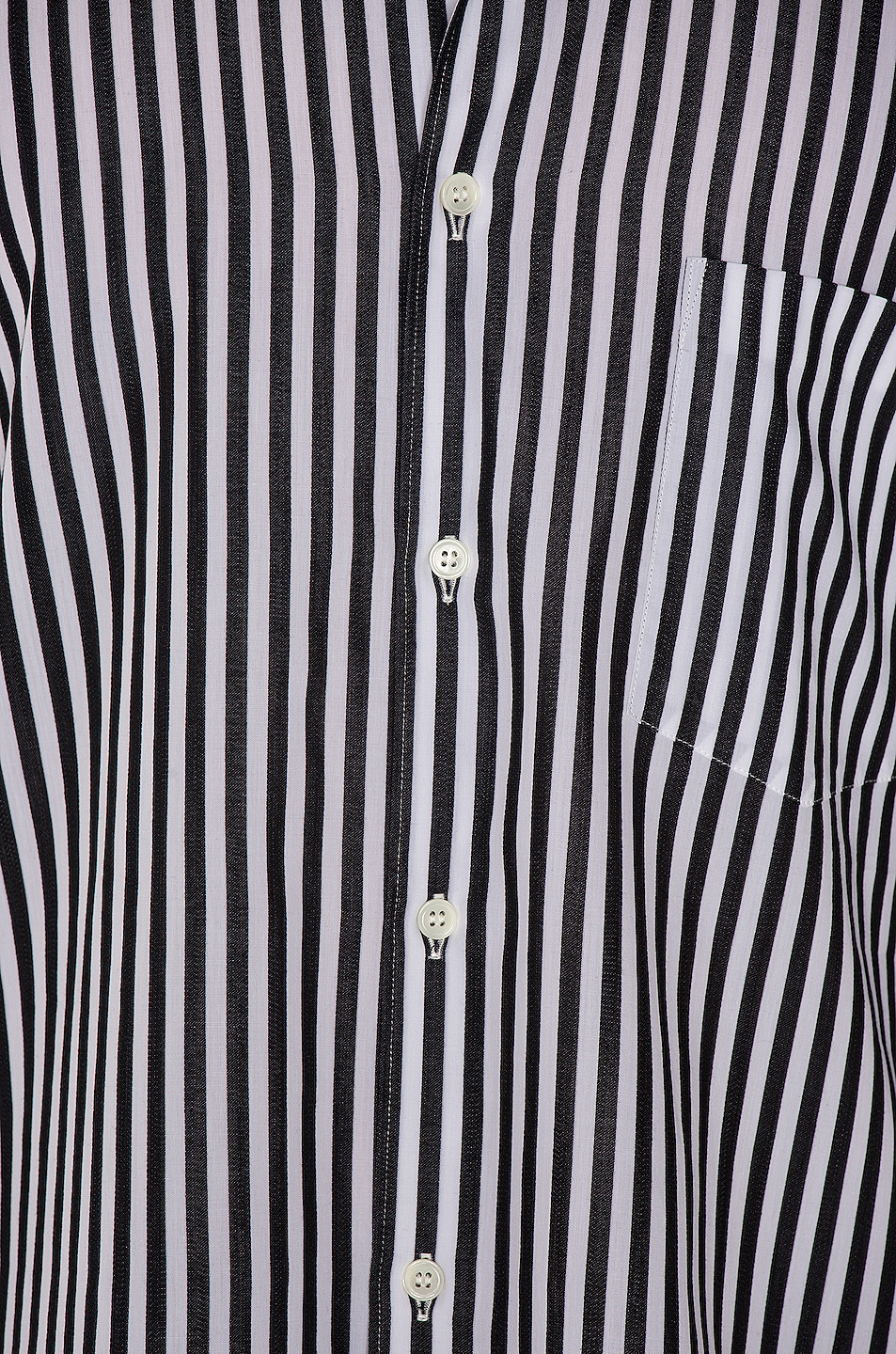 Image 5 of Comme Des Garcons Homme Plus Exaggerated Long Sleeve Shirt in H Pattern