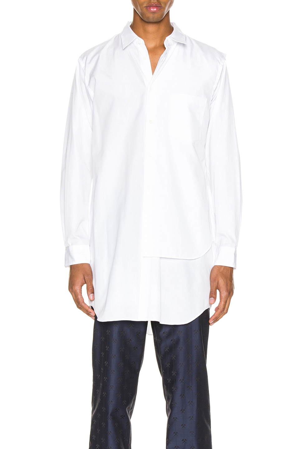 Image 1 of Comme Des Garcons Homme Plus Shirt in White