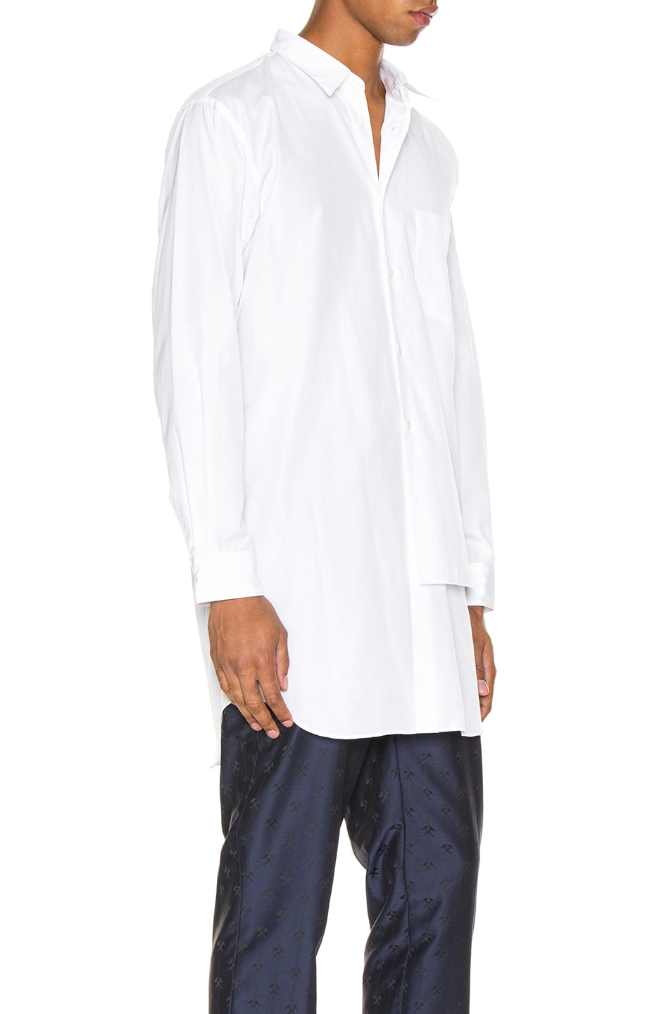 Image 2 of Comme Des Garcons Homme Plus Shirt in White