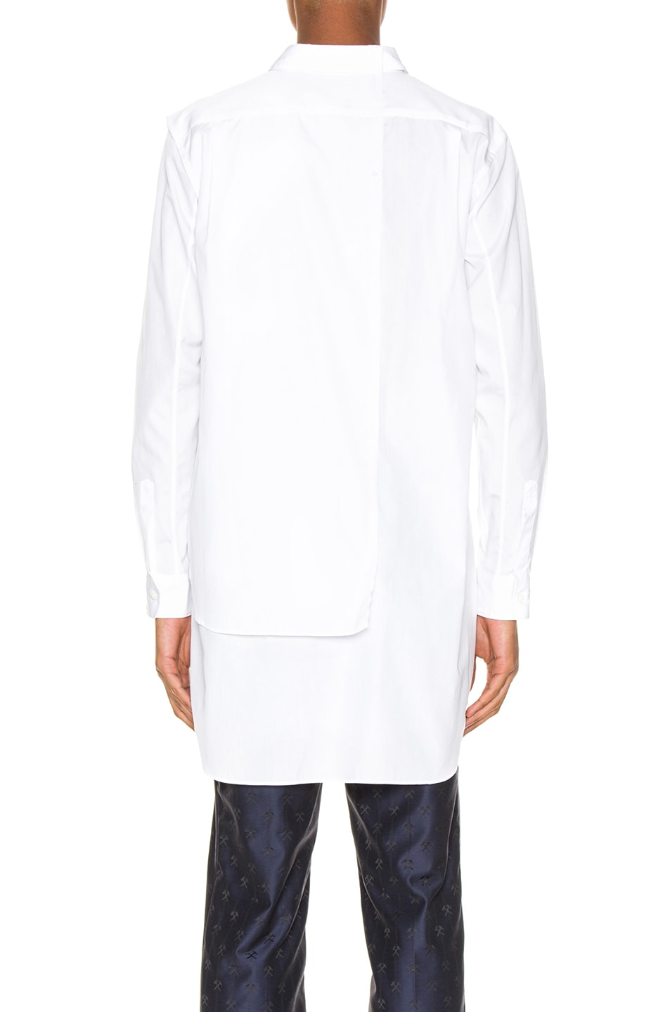 Image 4 of Comme Des Garcons Homme Plus Shirt in White