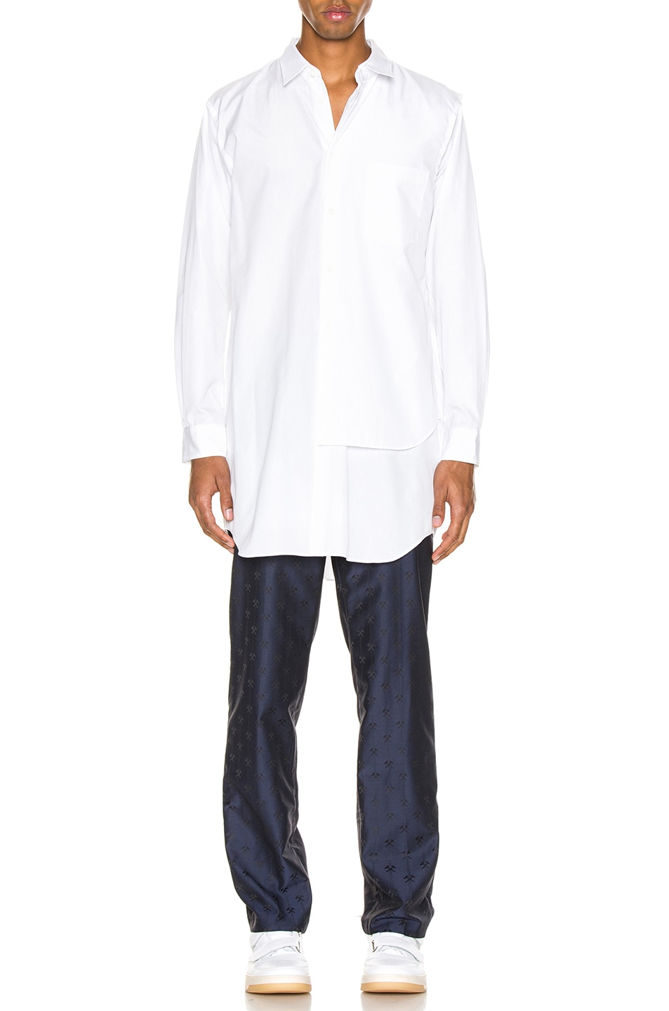Image 5 of Comme Des Garcons Homme Plus Shirt in White