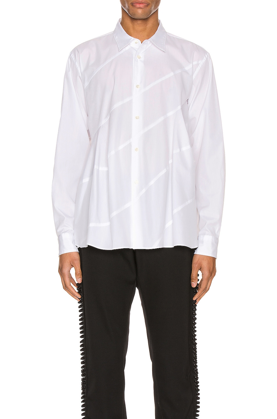 Image 1 of Comme Des Garcons Homme Plus Long Sleeve Shirt in White