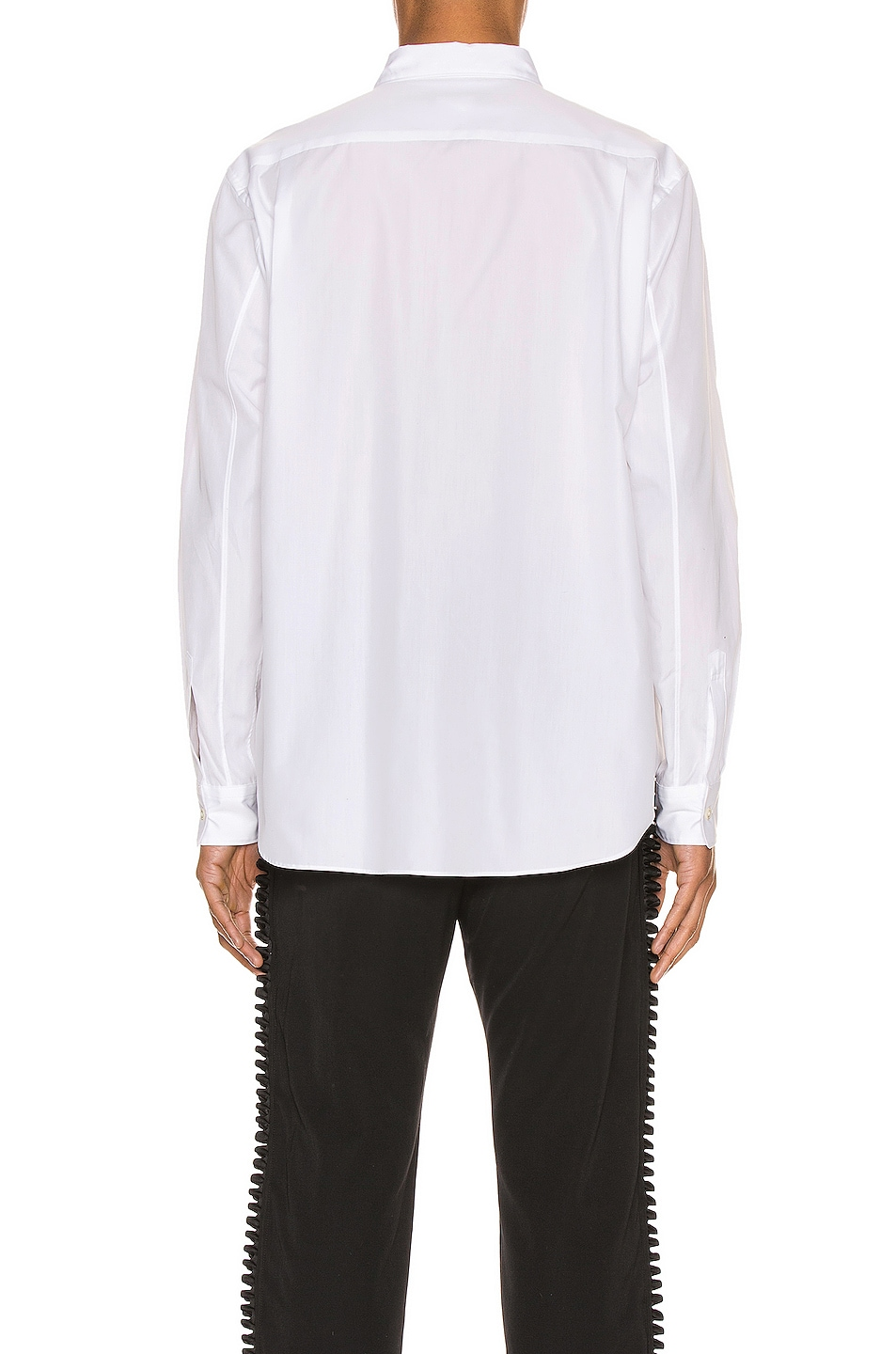 Image 3 of Comme Des Garcons Homme Plus Long Sleeve Shirt in White