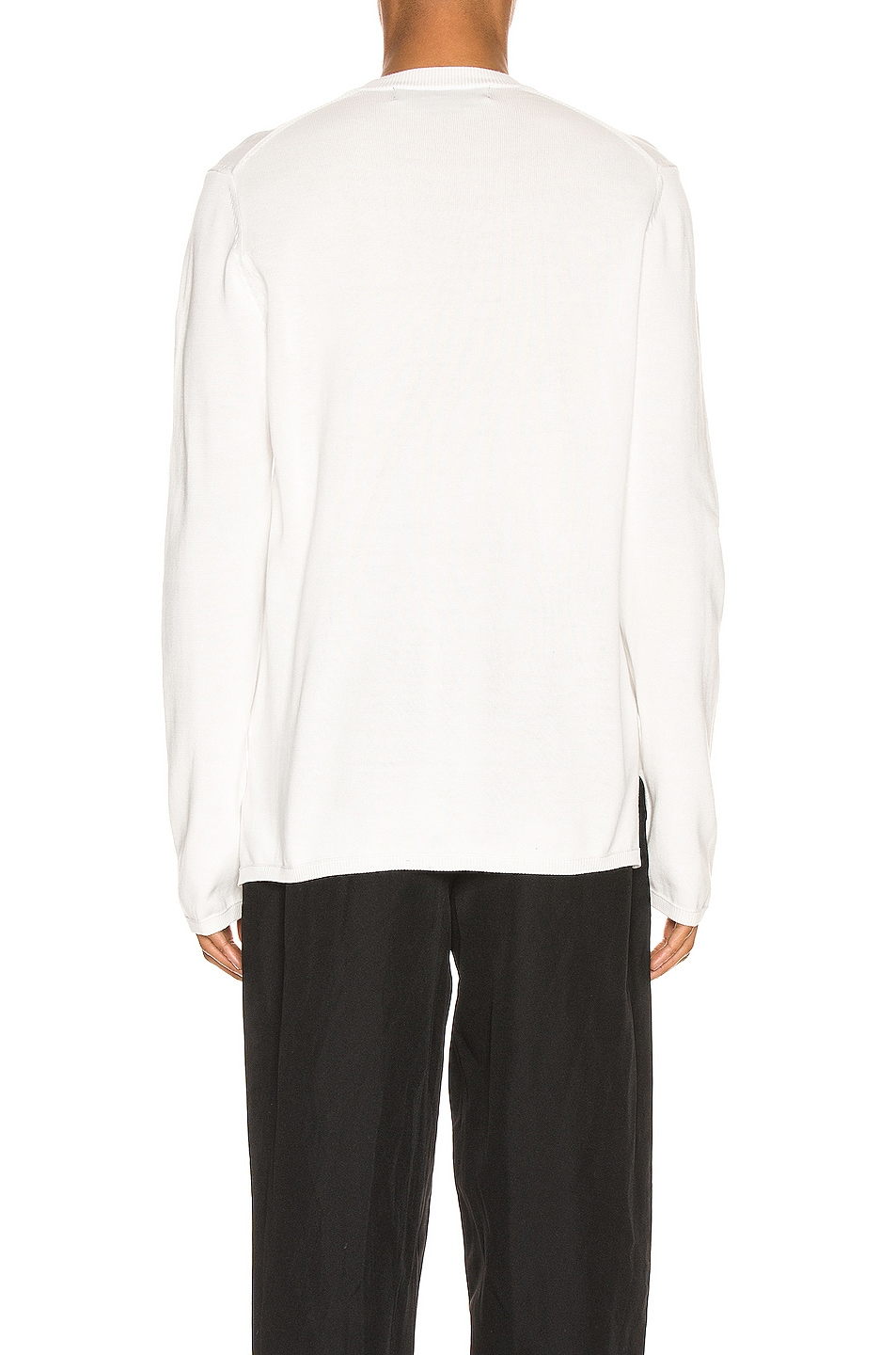 Image 3 of Comme Des Garcons Homme Plus Long Sleeve Tee in Off White