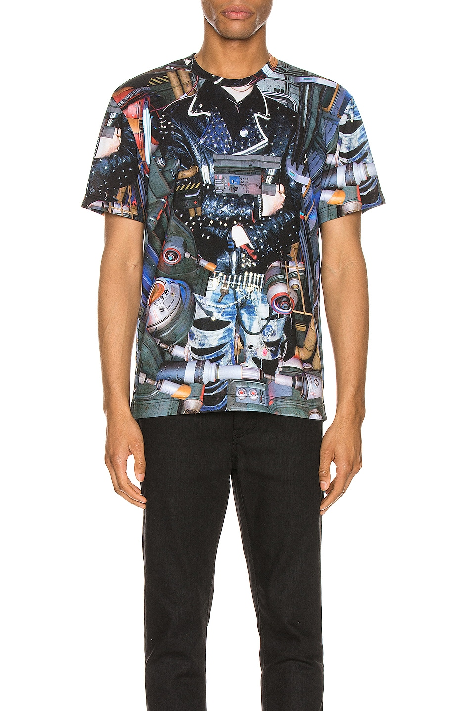 Image 1 of Comme Des Garcons Homme Plus Graphic Tee in Multi