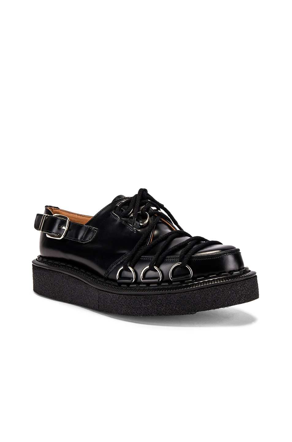 Image 1 of Comme Des Garcons Homme Plus Extra Large Creeper in Black