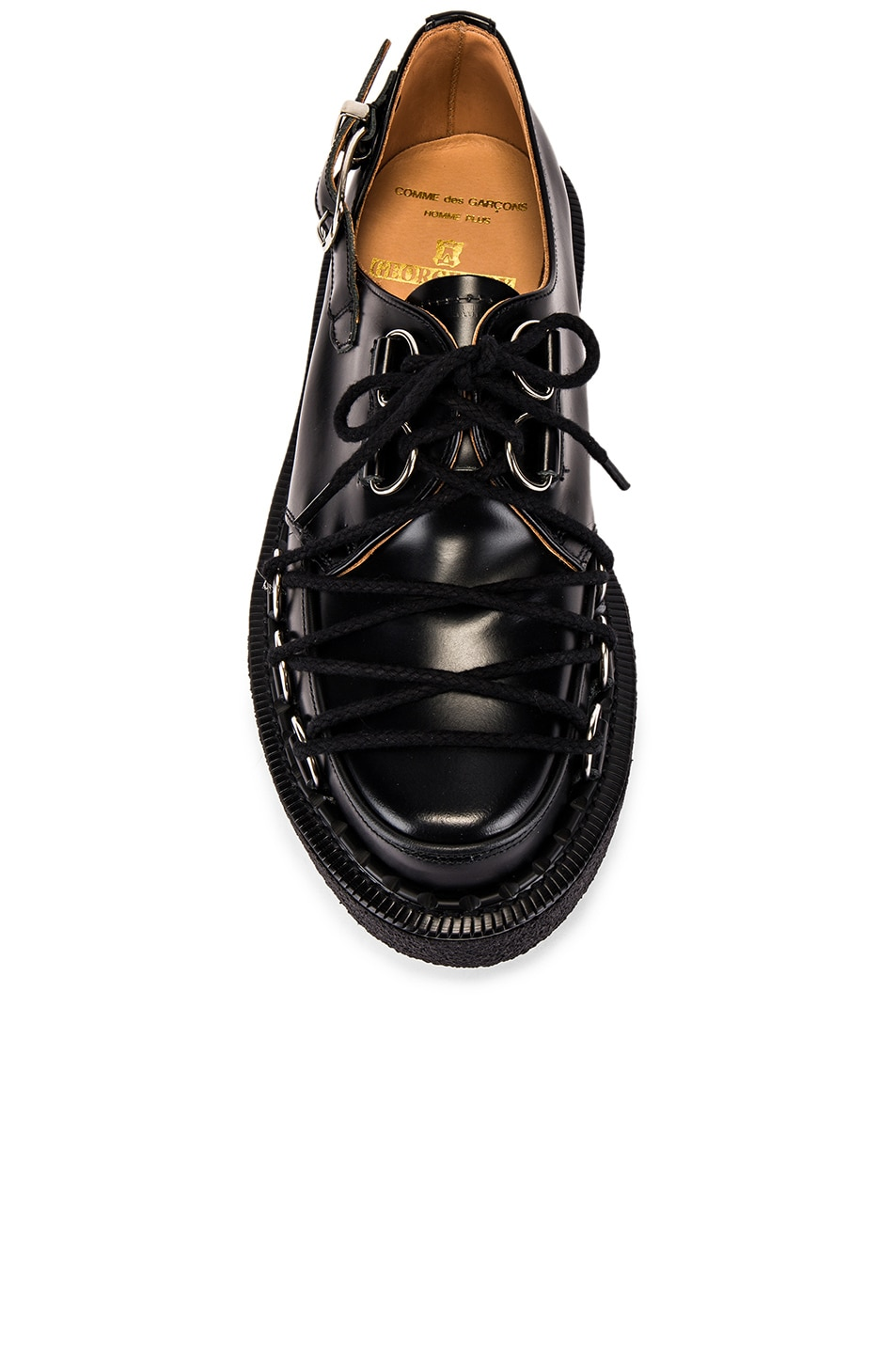 Image 4 of Comme Des Garcons Homme Plus Extra Large Creeper in Black