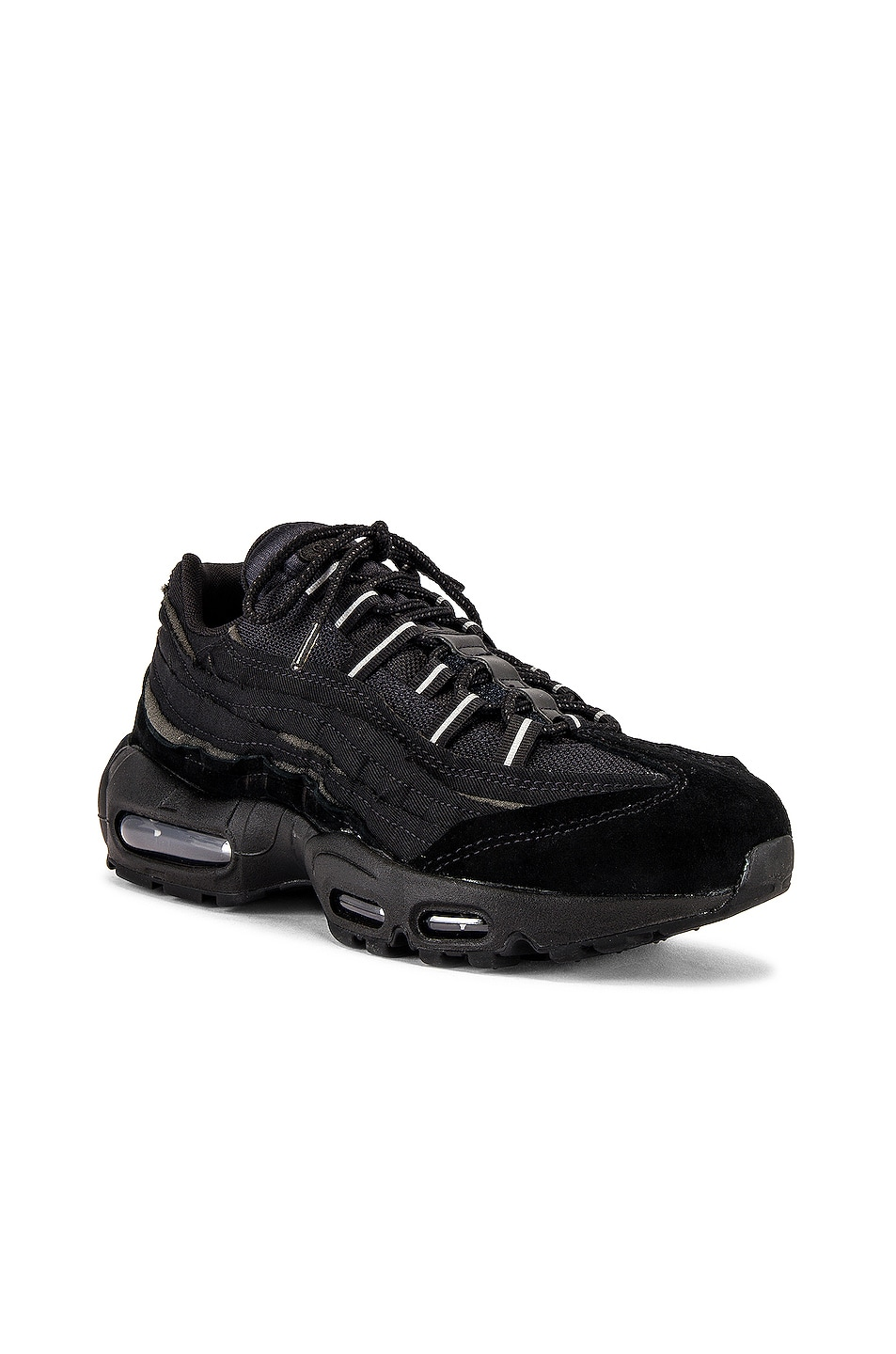 Image 1 of Comme Des Garcons Homme Plus Nike Air Max 95 in Black
