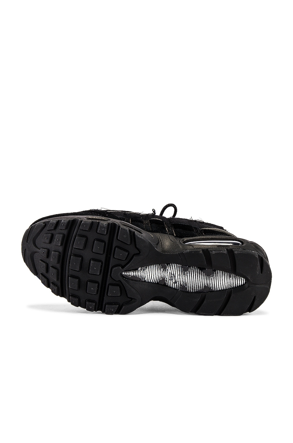 Image 6 of Comme Des Garcons Homme Plus Nike Air Max 95 in Black
