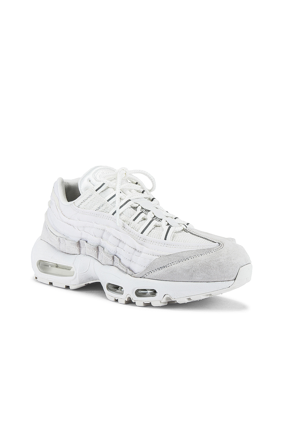 Image 1 of Comme Des Garcons Homme Plus Nike Air Max 95 in White