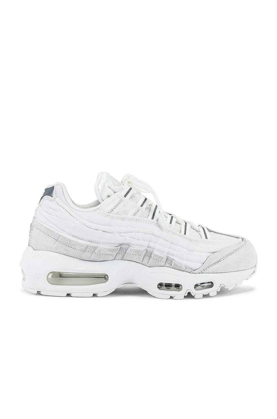 Image 2 of Comme Des Garcons Homme Plus Nike Air Max 95 in White