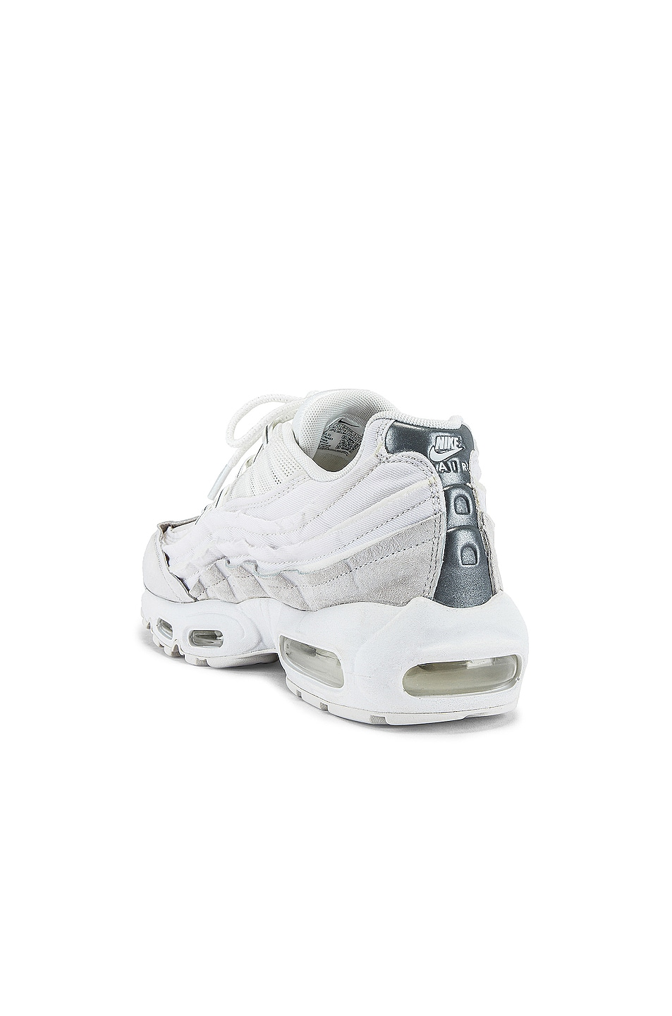 Image 3 of Comme Des Garcons Homme Plus Nike Air Max 95 in White