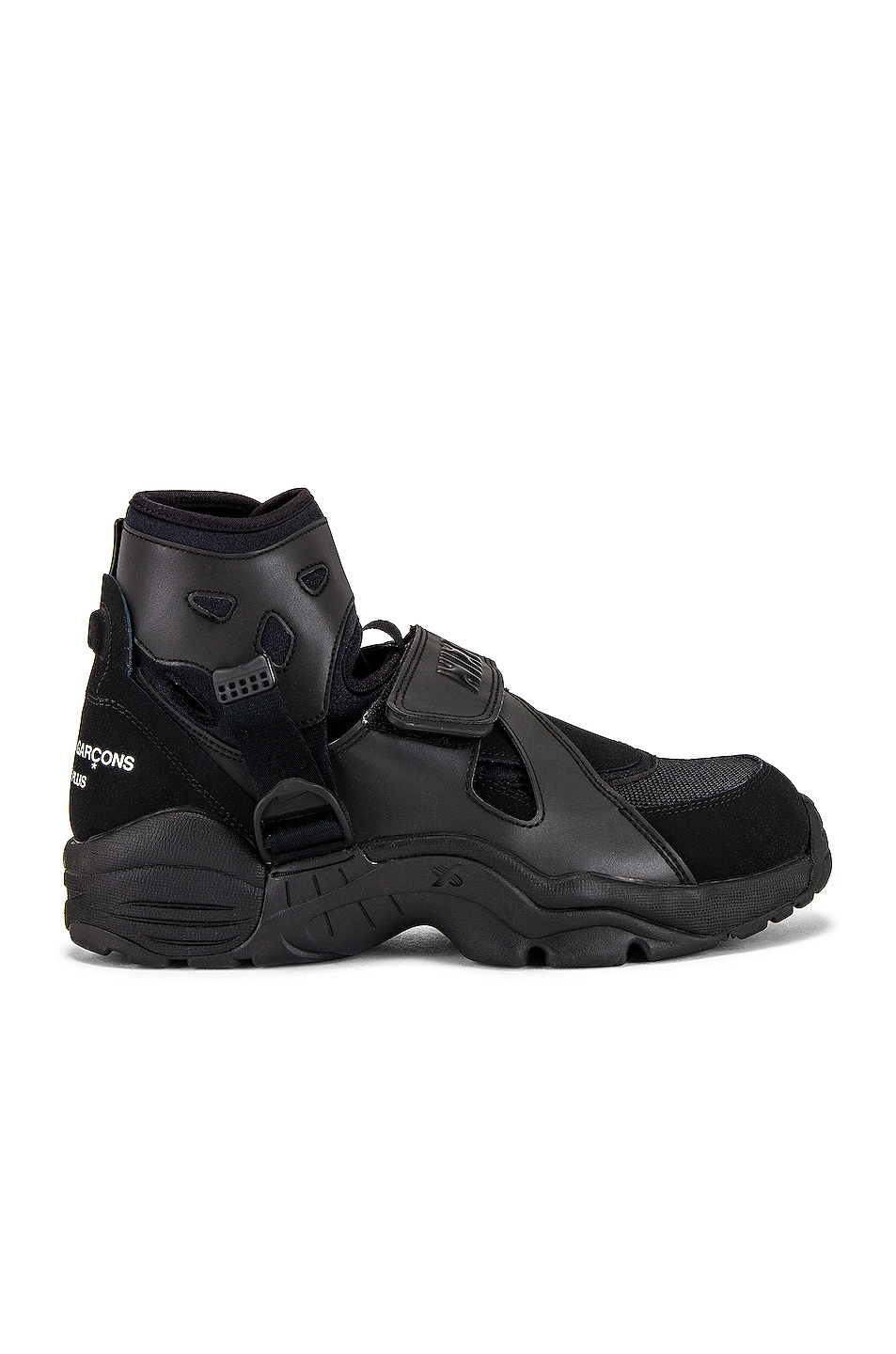 Image 1 of Comme Des Garcons Homme Plus x Nike Carnivore in Black