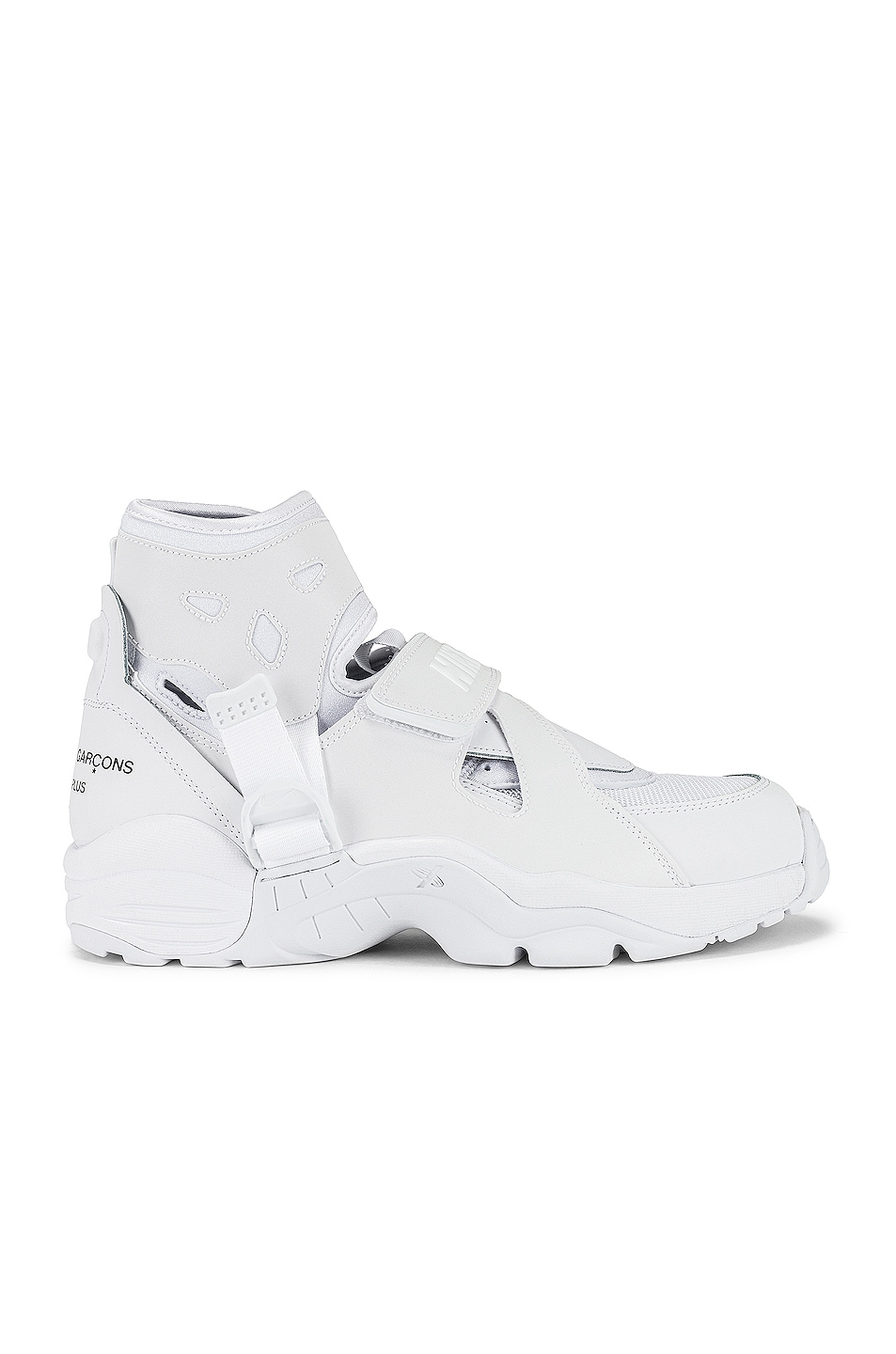 Image 1 of Comme Des Garcons Homme Plus x Nike Carnivore in White